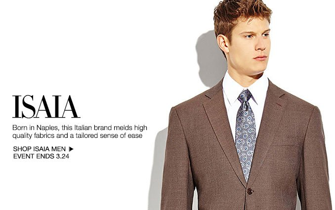 Shop Isaia - Men