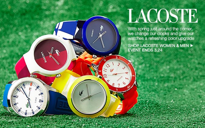 Shop Lacoste Watches