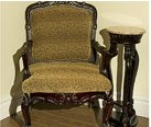 HAND CARVED EDWARDIAN CHAIR