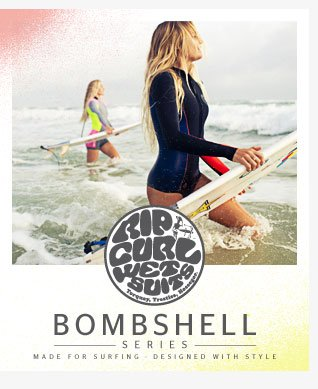 Bombshell Series - Made for Surfing - Designed with Style - Alana Blanchard - Shop Now