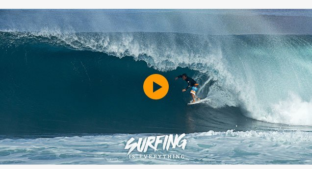 Surfing is Everything - Kekoa Bacalso - Watch The Video