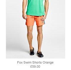 Fox Swim Shorts Orange