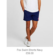 Fox Swim Shorts Navy