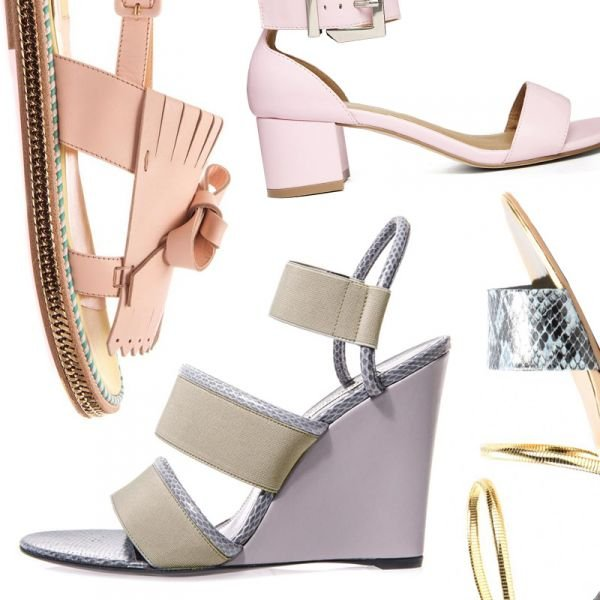6 Pastel Sandals That Will Make Your Outfit