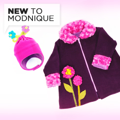 Adorable Fleece Apparel & Accessories. Made in USA