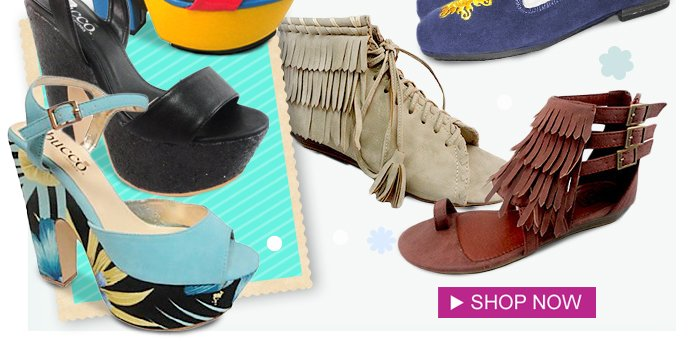 Score the hottest spring looks with fab shoes for every outfit! From $17. Shop Now>