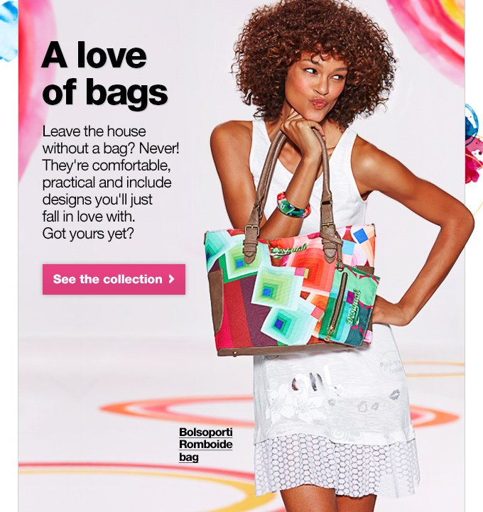 A love of bags