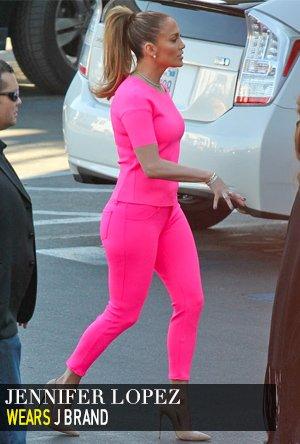 Jennifer Lopez in J Brand
