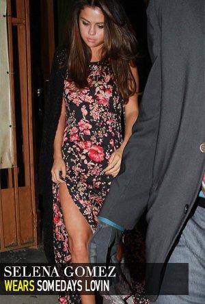 Selena Gomez in Somedays Lovin
