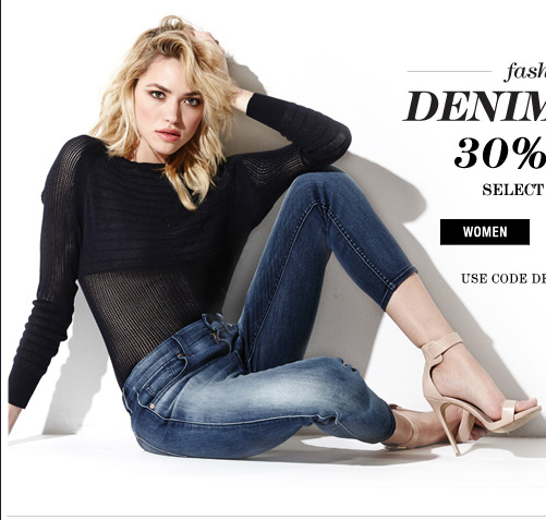 Demin Days 30% Off | Shop Women