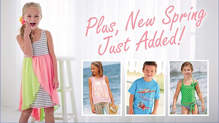 New for Spring 2014, Shop Now