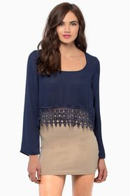 Caroline Cropped Blouse $37