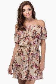Tania Floral Dress $40