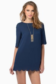 Ever So Scalloply Dress $43