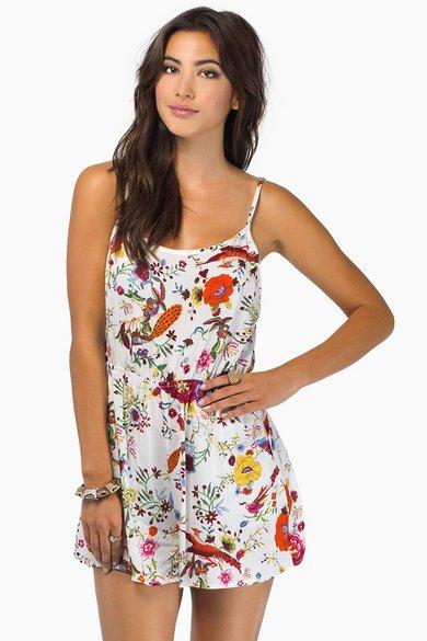 Darling Floral Romper $30