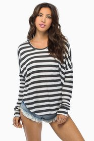 Nancy Striped Sweater $33