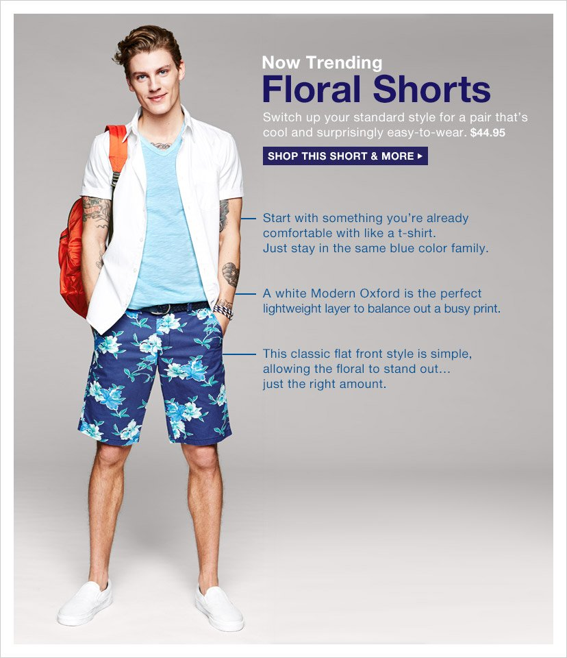 Now Trending Floral Shorts | SHOP THIS SHORT & MORE