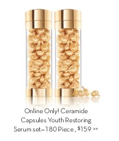 Online Only! Ceramide Capsules Youth Restoring Serum set—180 Piece, $159.