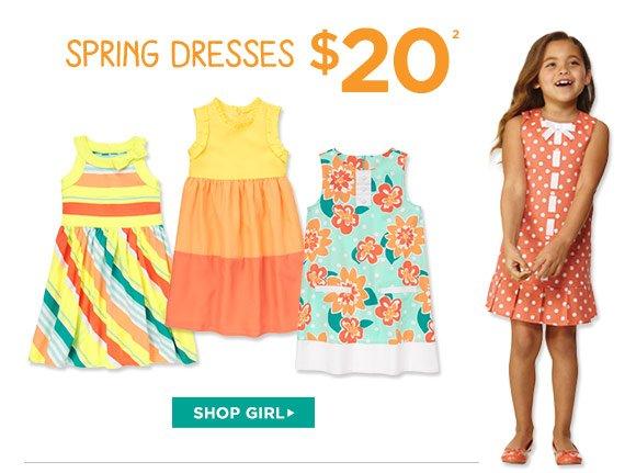Spring Dresses $20(2). Shop Girl