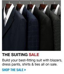 the suiting sale - shop the sale