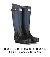 Rag&Bone Black and Navy Boot