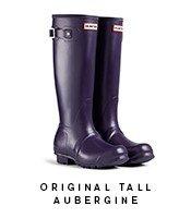 Original Tall Aubergine Boot