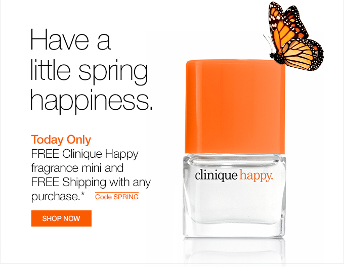 Have a little spring happiness.
