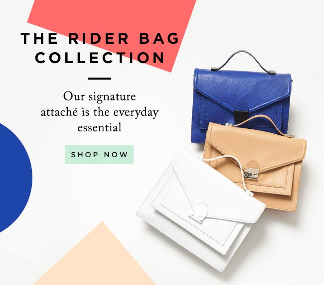 Shop The Entire Loeffler Randall Rider Bag Collection At The Official Online Store www.LoefflerRandall.com