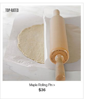 TOP RATED - Maple Rolling Pin - $36