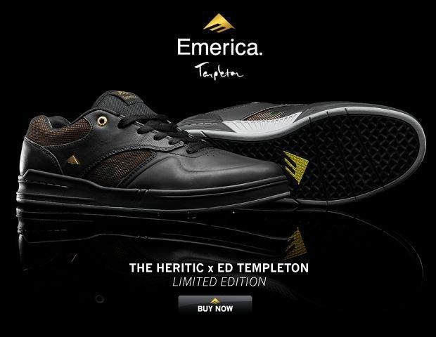 The Heritic X Ed Templeton