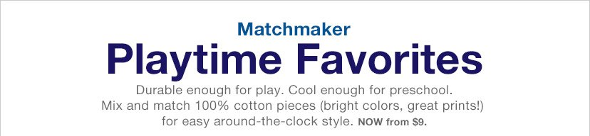 Matchmaker | Playtime Favorites