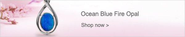 Ocean Blue Fire Opal