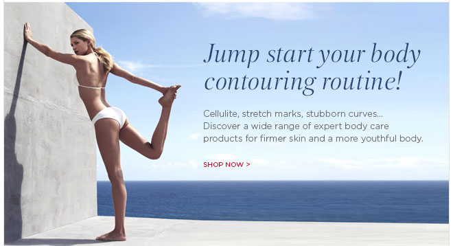 Jump start your body contouring routine. Shop Now >