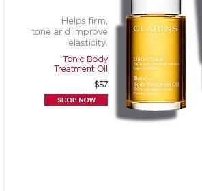 Tonic Body Treatment Oil. Shop Now >