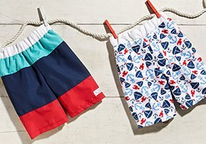The Heat Is On: Boys' Shorts