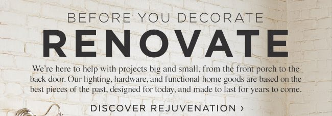 From Our Friends at Rejuvenation