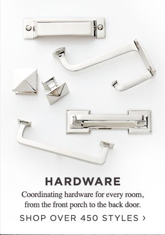 Shop Over 450 Coordinating Styles of Hardware