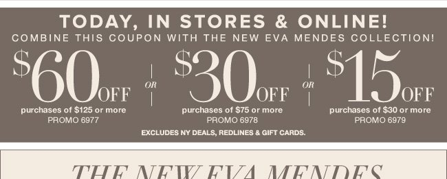 Save Up to $60 In Stores & Online!