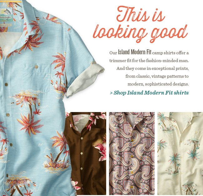 Shop Island Modern Fit shirts