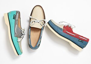 Smooth Sailing: Boat Shoes