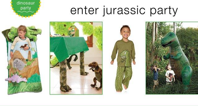 rex dinosaur party