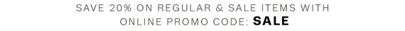online promo code: SALE