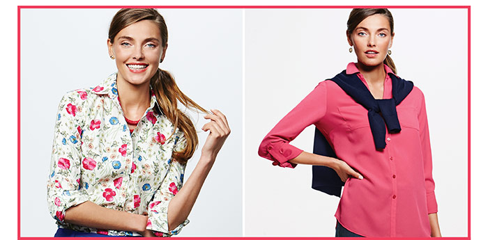 Limited Time! 30% off regular-priced tops.