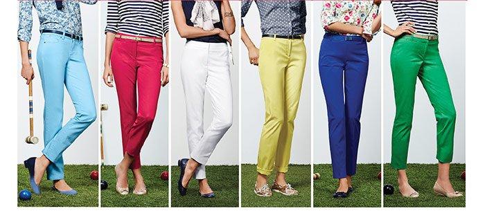 Perfect pant picks, $25 off regular-priced pants. Shop Now.