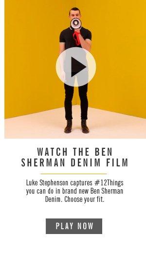 Watch the Ben Sherman Denim Film