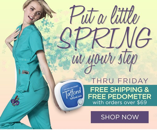 Free Shipping + Free Pedometer with orders over $69 - Shop Now
