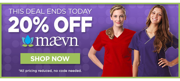 20% Off Maevn Ends Today - Shop Now