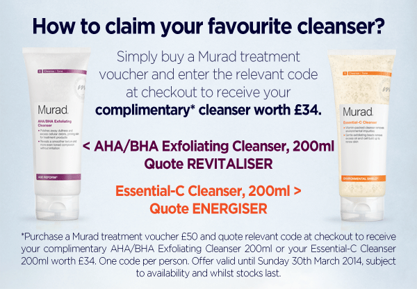 How to claim your favourite cleanser