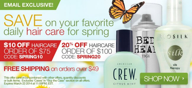 Save on Haircare