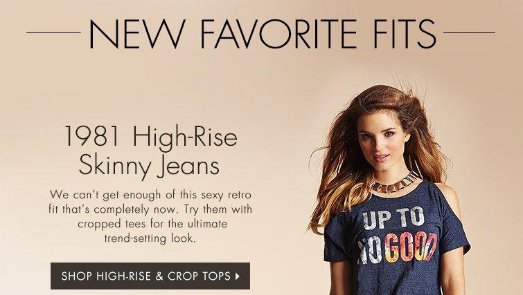 Shop High Rise & Crop Tops